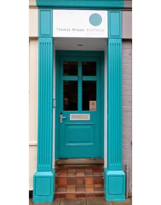 Thomas Wilson Architects Front Door